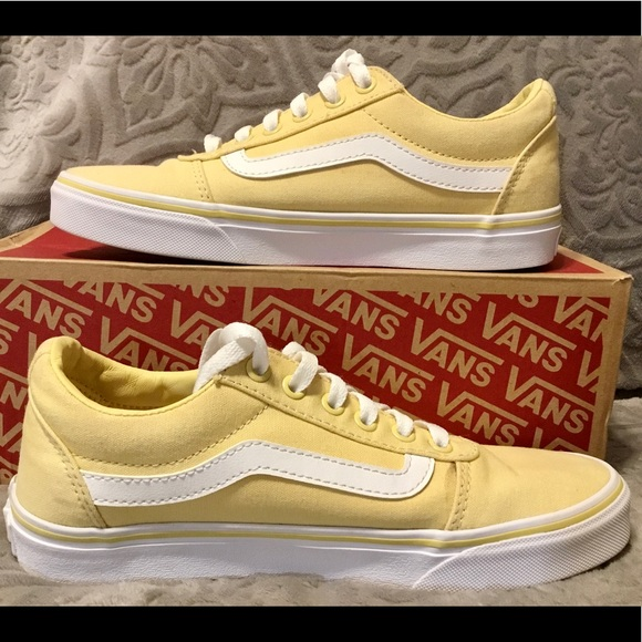Old Skoll Style Butter Yellow Color